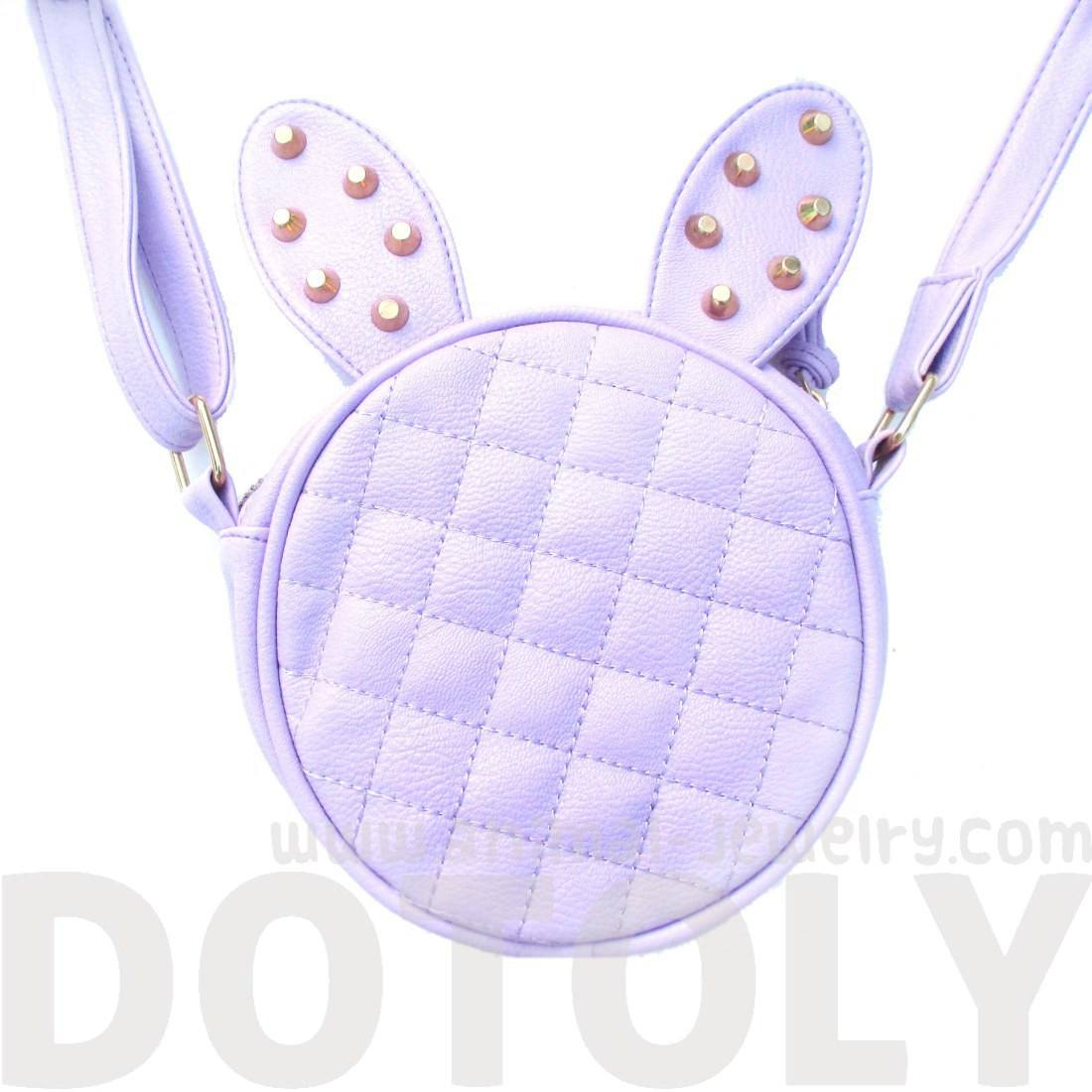 round-bunny-rabbit-ears-shaped-quilted-cross-body-shoulder-bag-in-purple-with-studs
