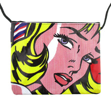 Roy Lichtenstein Girl with Hair Ribbon Print xBody Bag