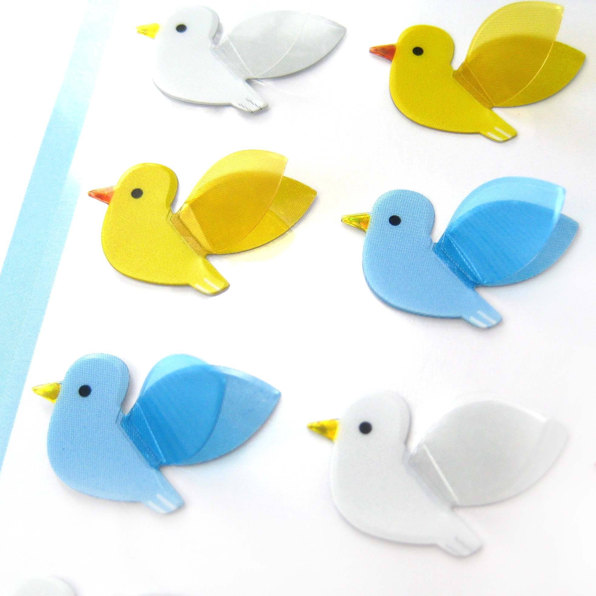seagull-birds-shaped-3d-pop-up-stickers-for-scrapbooking-and-decorating
