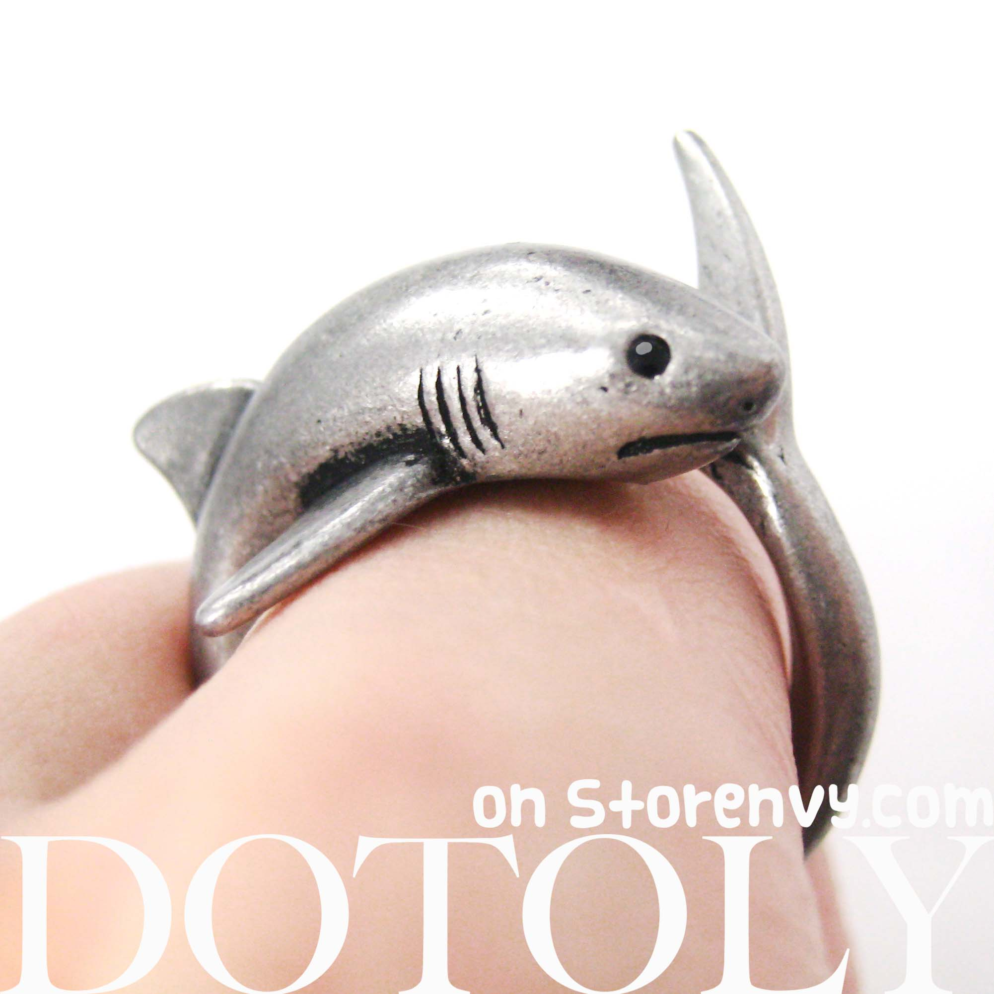 shark-sea-animal-wrap-ring