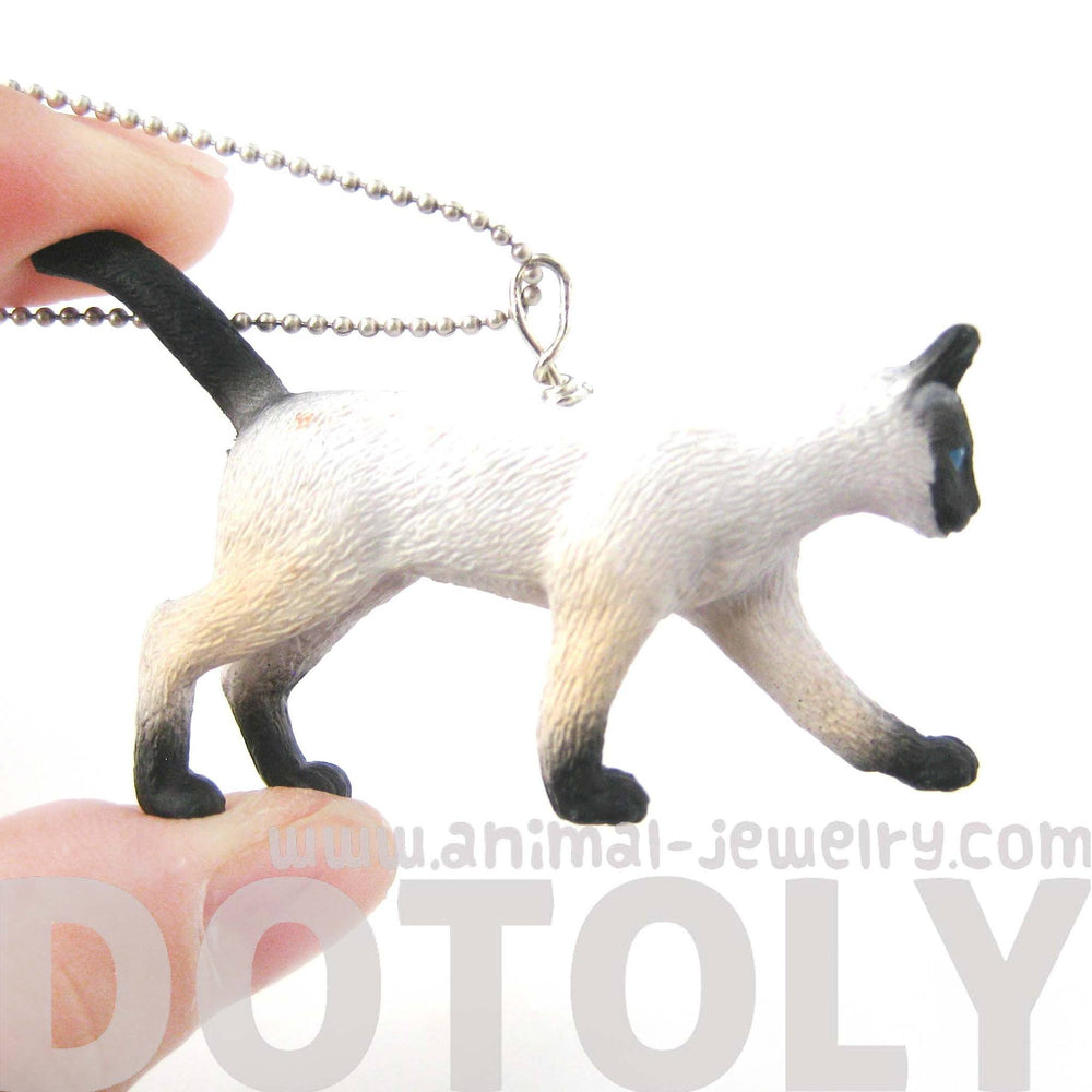 siamese-kitty-cat-animal-plastic-pendant-necklace-animal-jewelry