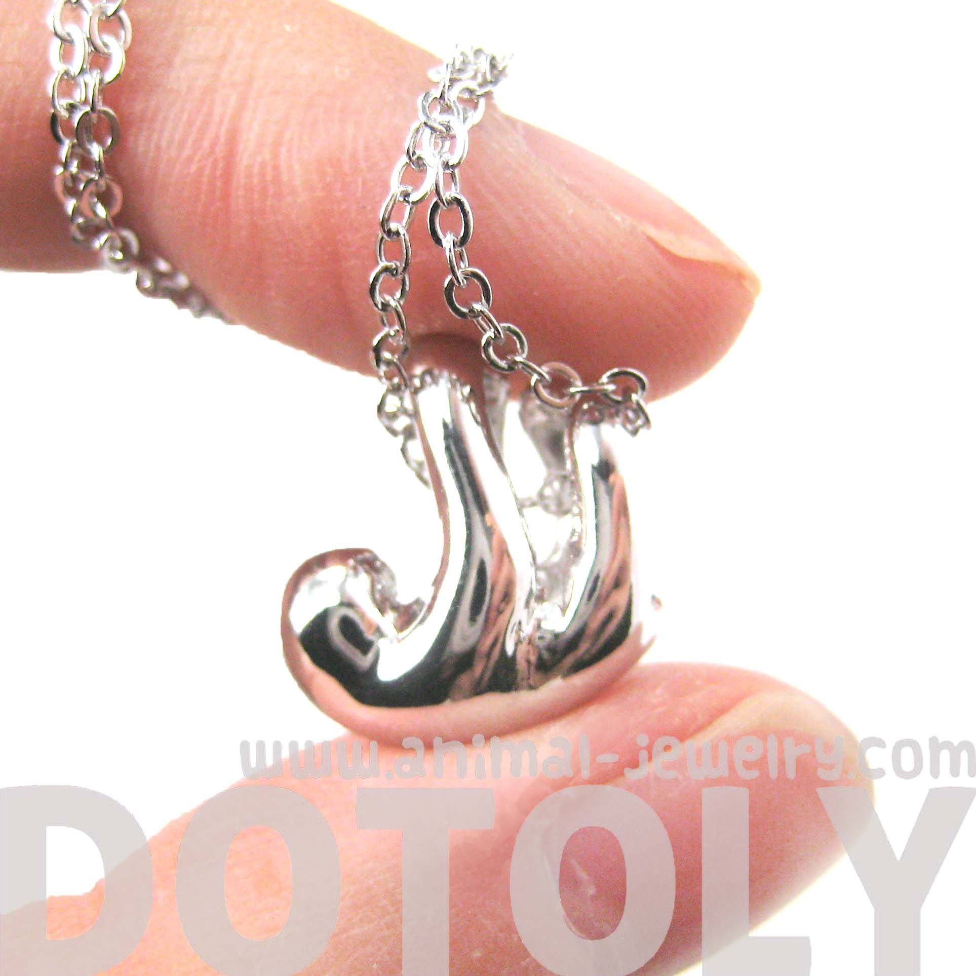sleek-abstract-sloth-shaped-animal-pendant-necklace-in-silver-dotoly