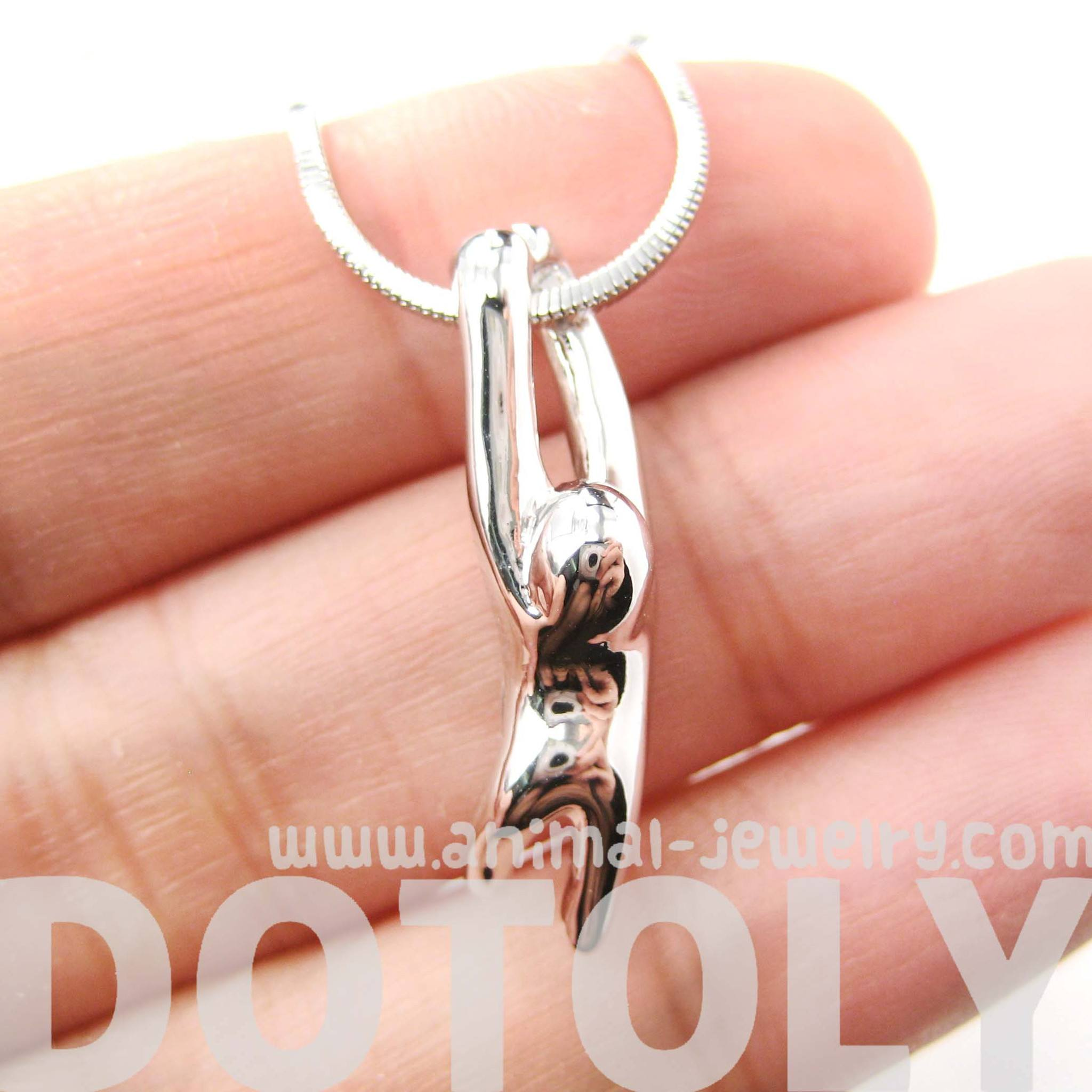 sloth-dangling-sleek-abstract-animal-pendant-necklace-in-silver-dotoly