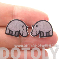 small-rhino-rhinoceros-animal-illustration-stud-earrings-handmade-shrink-plastic