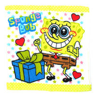 SpongeBob Squarepants and Star Print Square Face Towel Handkerchief