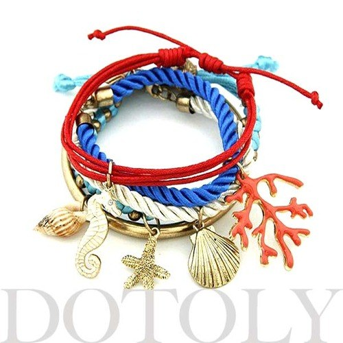 sea-creatures-themed-charm-bracelet