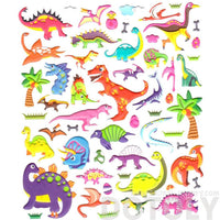 Super Big Colorful Assorted Dinosaurs Shaped Stickers