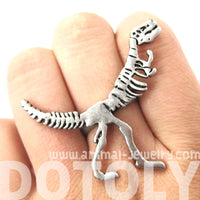 t-rex-dinosaur-fossil-skeleton-bones-adjustable-ring-in-silver