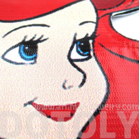 The Little Mermaid Ariel Princess Shaped Vinyl Bag