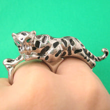 tiger-leopard-double-duo-finger-animal-ring-in-silver-dotoly