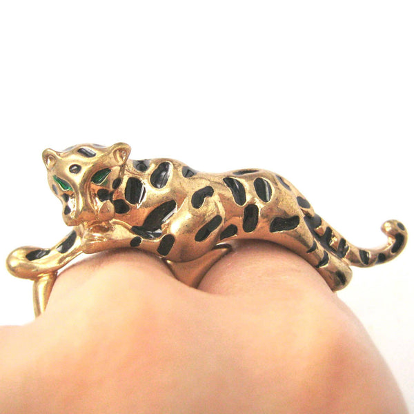 tiger-leopard-double-finger-elegant-animal-ring-in-gold