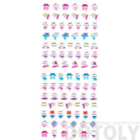 Tiny Kitty Cat Ballerina Shaped Puffy Stickers for Scrapbooking | DOTOLY