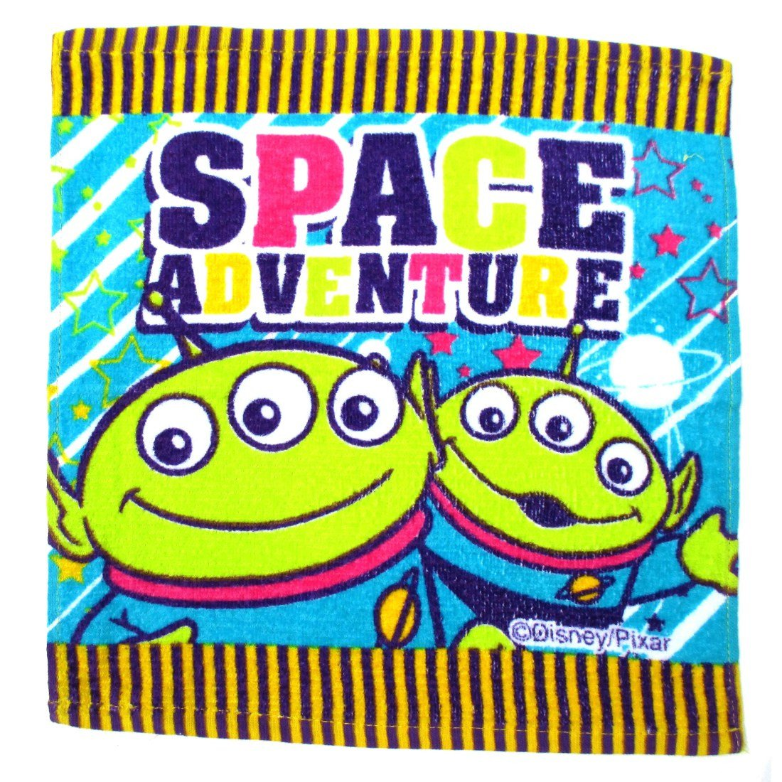 Toy Story Three Eye Squeeze Toy Alien Space Adventure Print Face Towel