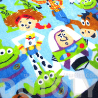 Toy Story Woody Buzz and Friends Collage Print Face Towel Handkerchief