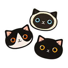 Adorable Kitty Cat Face Shaped Pocket Hand Held Mirror for Cat Lovers