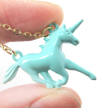 unicorn-horse-animal-pendant-necklace-in-mint-blue-animal-jewelry