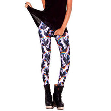 Unicorns and Rainbow Animal Digital Print Comfortable Stretch Leggings