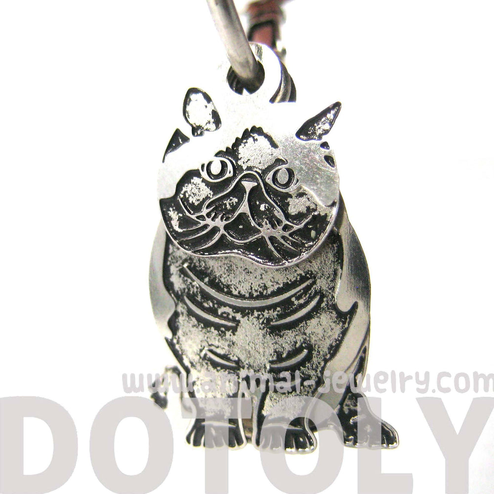 unique-3d-kitty-cat-shaped-dangle-earrings-in-silver-animal-jewelry