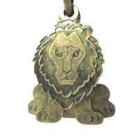 unique-3d-lion-shaped-dangle-earrings-in-brass-animal-jewelry