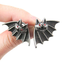unique-bat-shaped-two-part-animal-stud-earrings-in-silver-dotoly