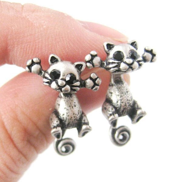 unique-kitty-cat-shaped-two-part-dangle-earrings-in-silver-dotoly