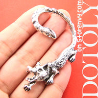 wolf-realistic-animal-wrap-ear-cuff-in-silver