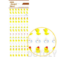 Yellow Rubber Ducky Animal Sticker Envelope Seal for Scrapbooking and Decorating | DOTOLY