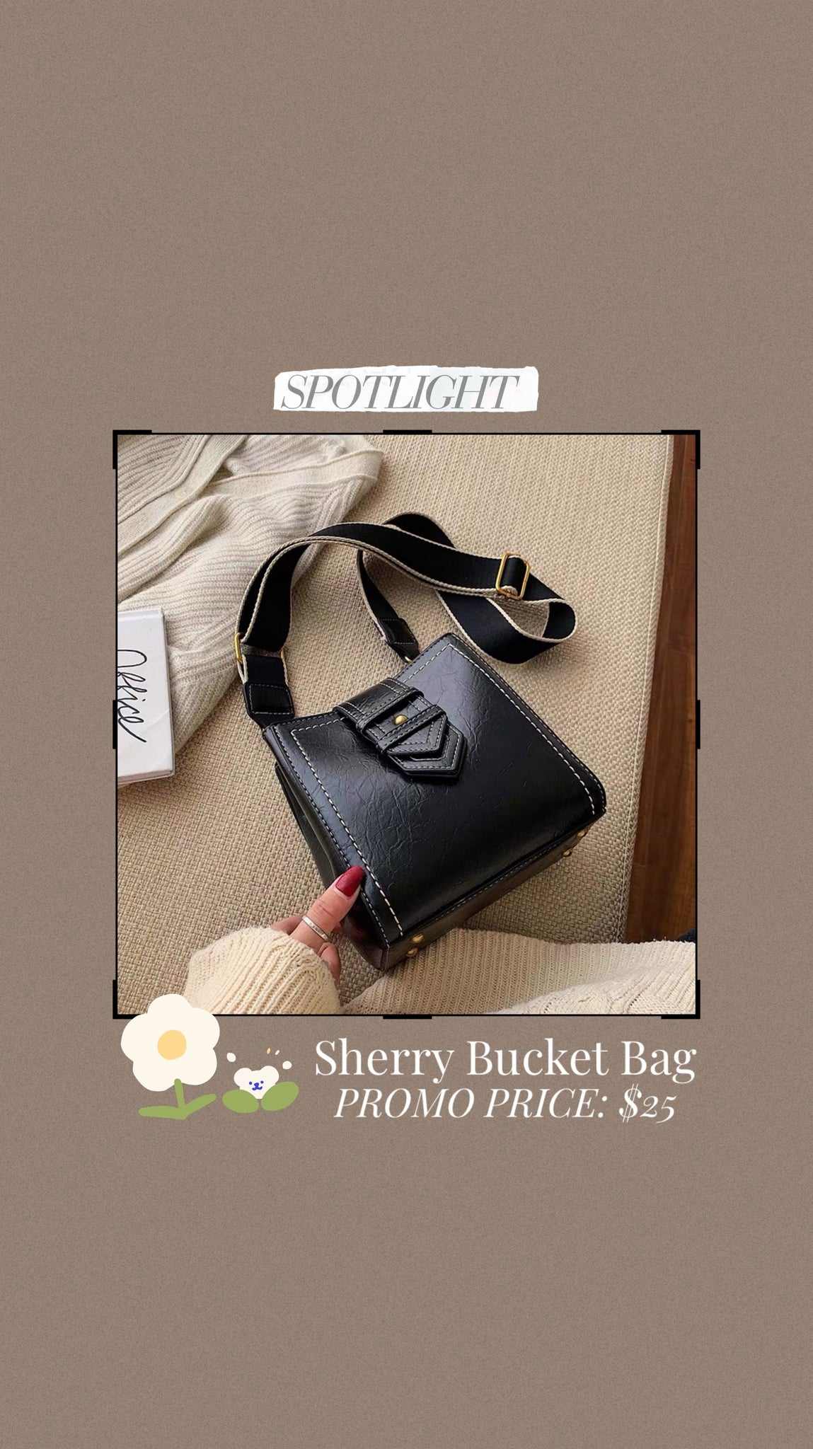 Sherry Bucket Bag