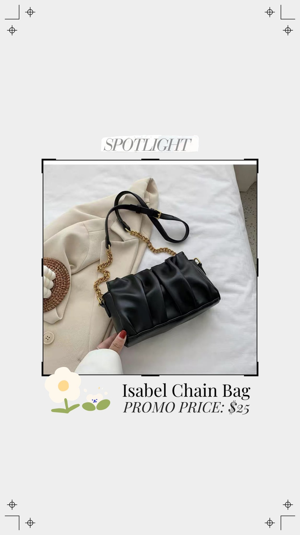 Isabel Chain Bag