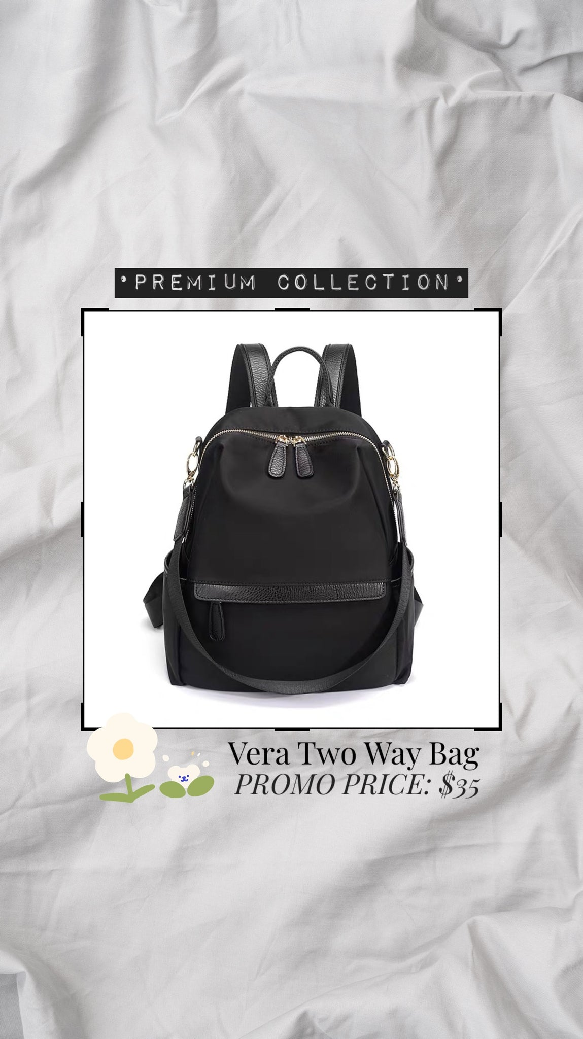 *Premium* Vera Two Way Bag