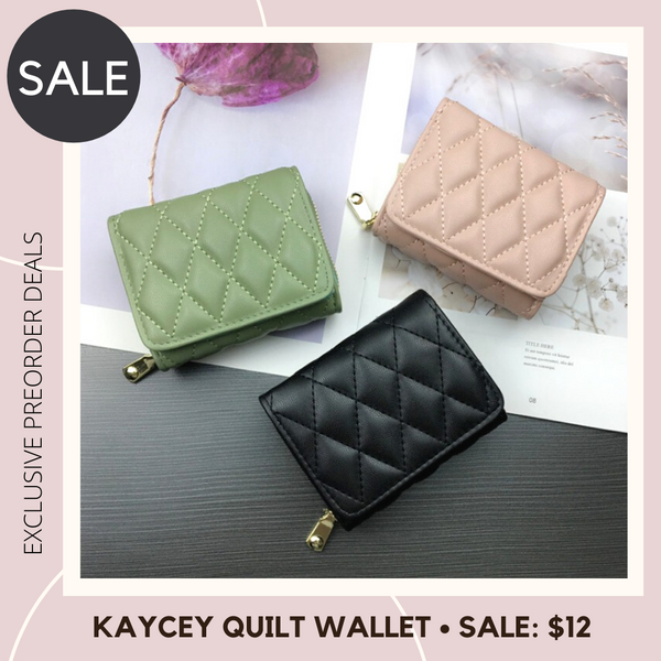 Kaycey Quilt Wallet