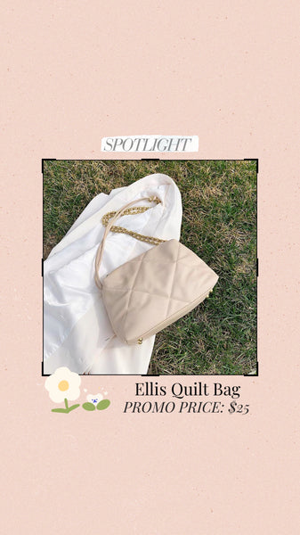 Ellis Quilt Chain Bag
