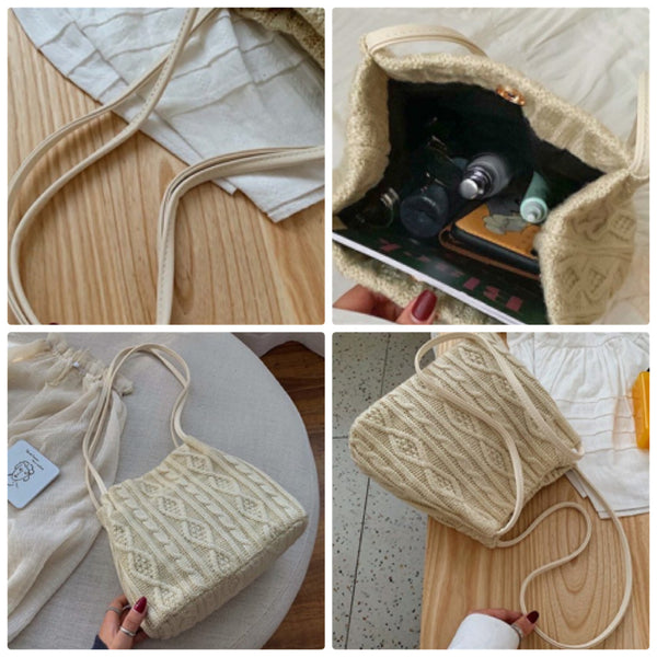 Xuanz Knitted Weave Bag