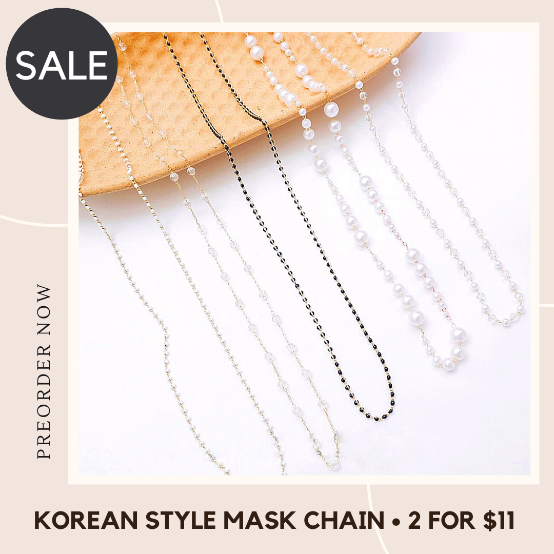 Korean Style Mask Chain