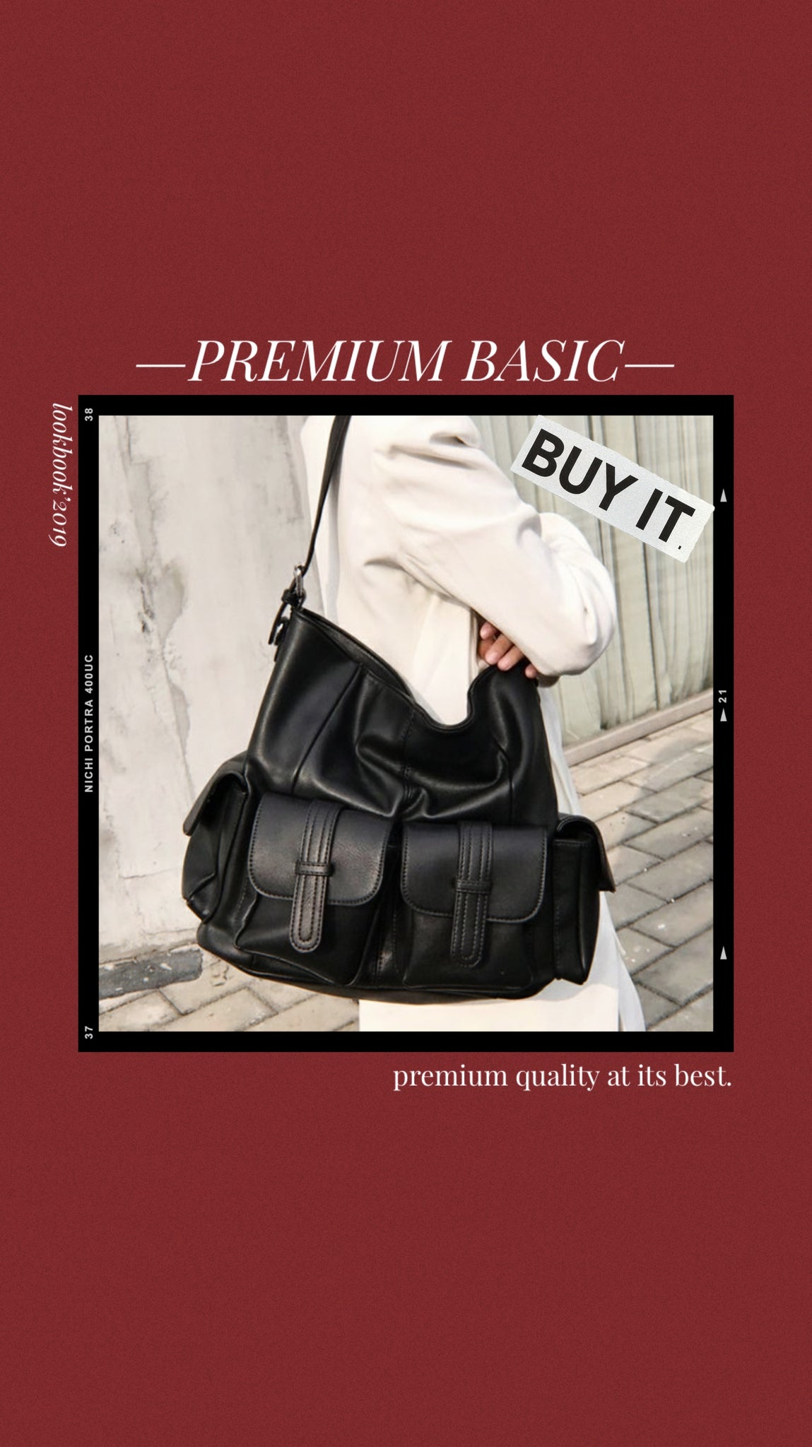 *Premium* Cyrus Shoulder Bag