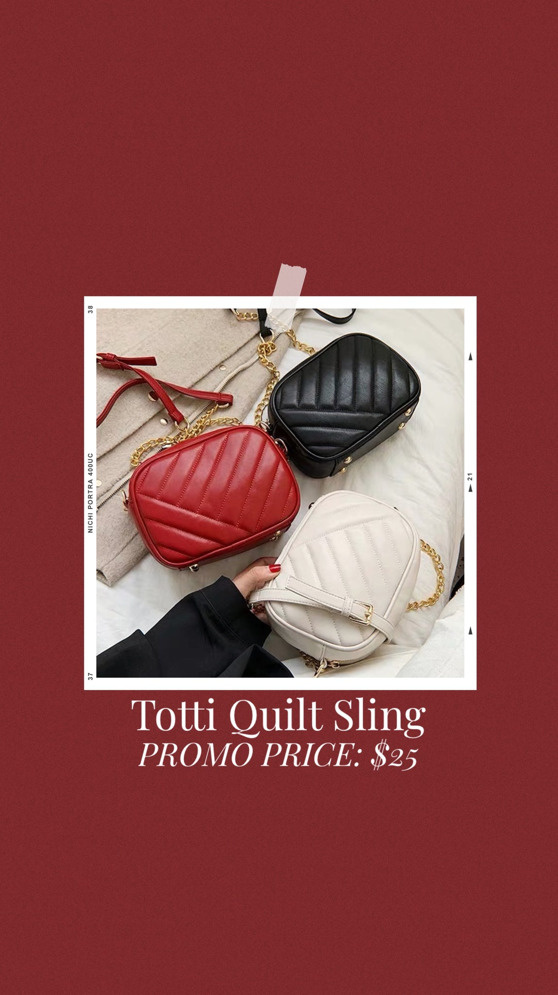 Totti Quilt Sling