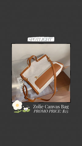 Zolie Canvas Bag