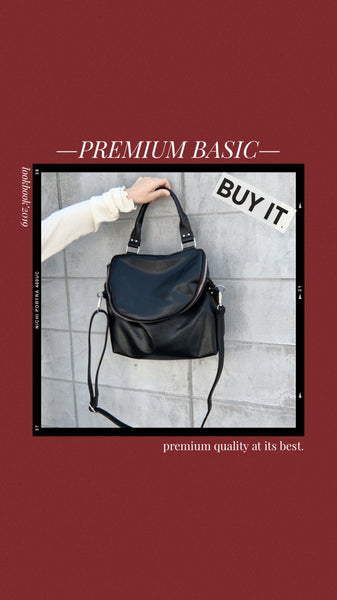 *Premium* Rila Two Way Bucket Bag