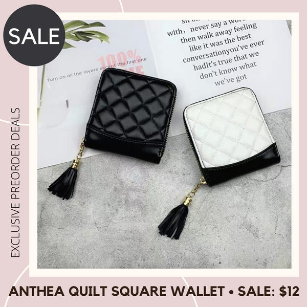 Anthea Quilt Square Wallet