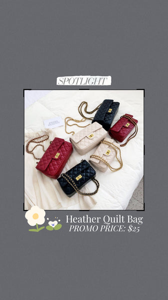 Heather Quilt Bag