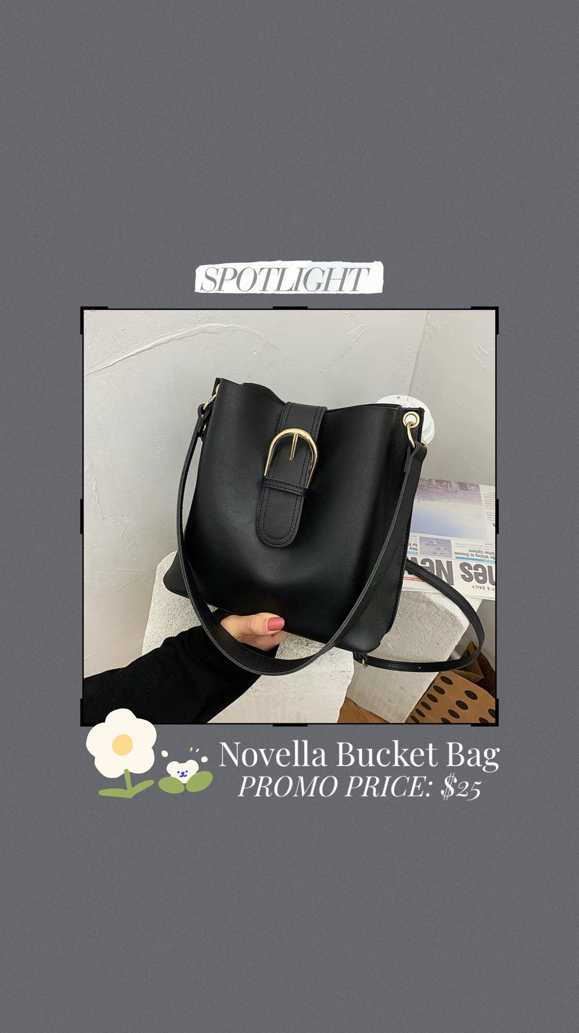 Novella Bucket Bag