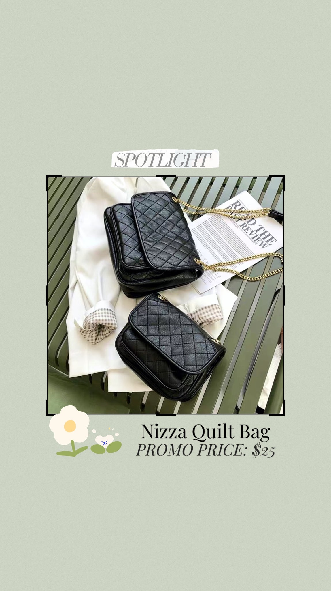 Nizza Quilt Bag