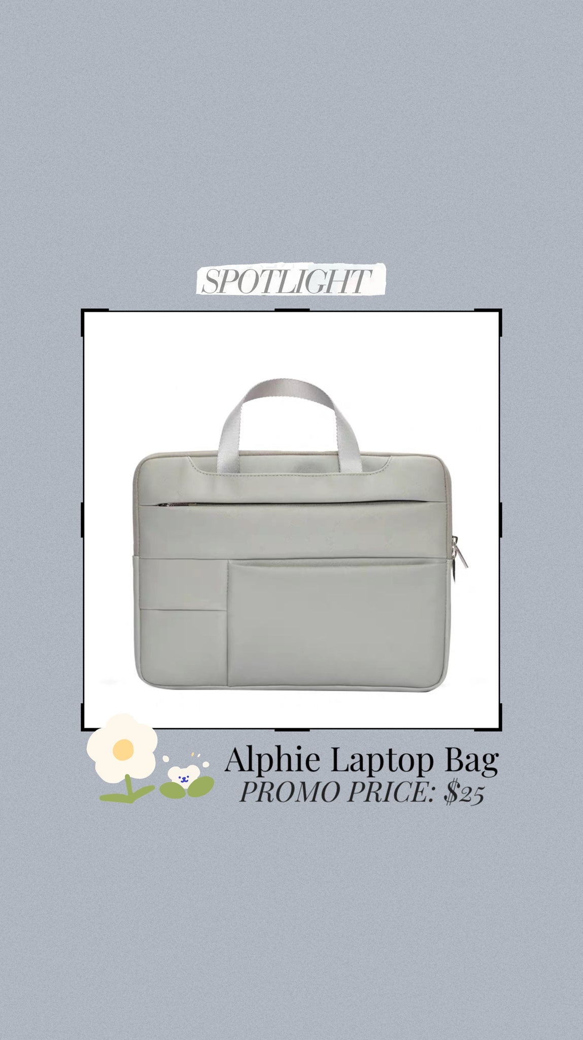 Alphie Laptop Bag