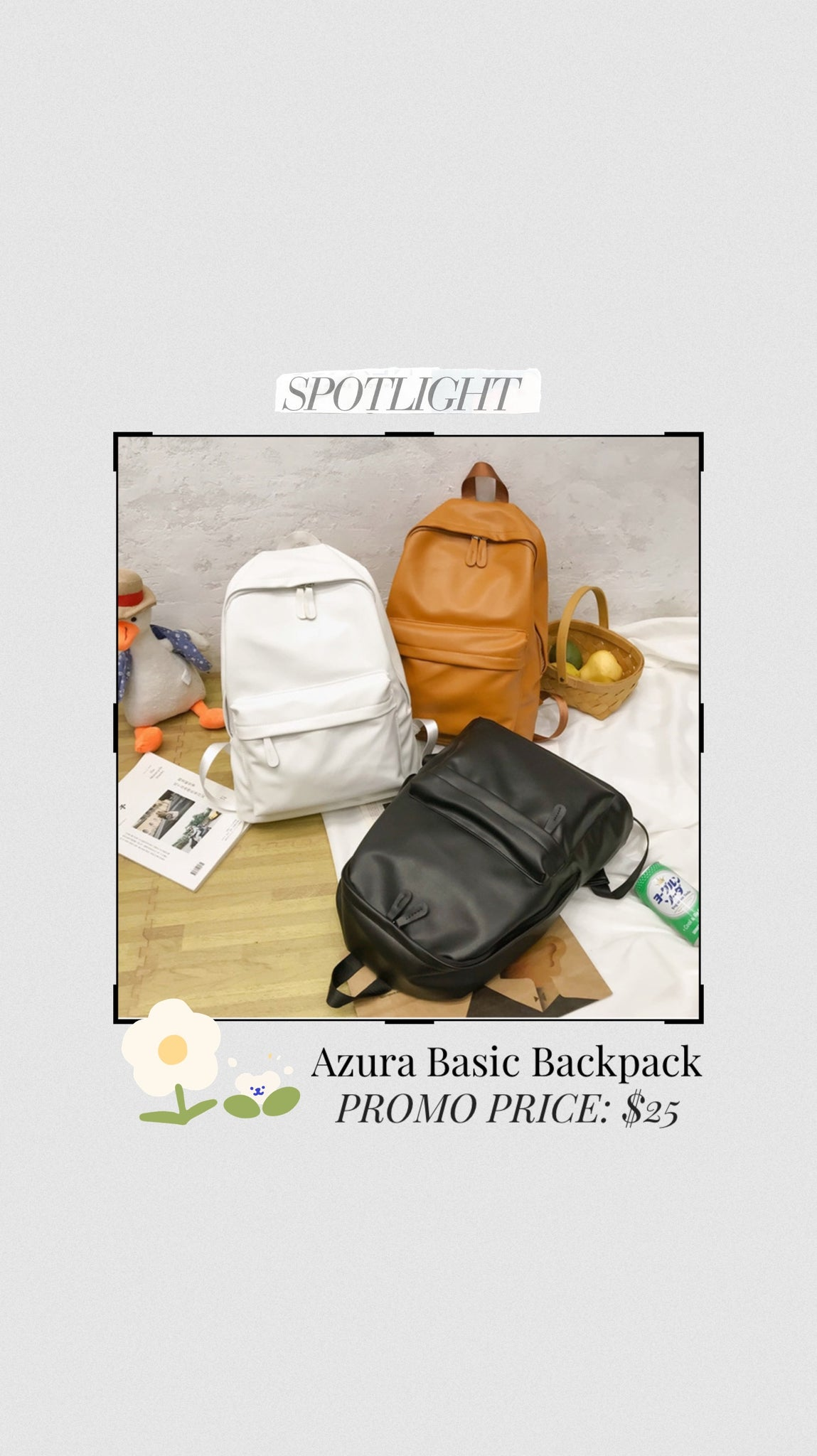 Azura Basic Backpack