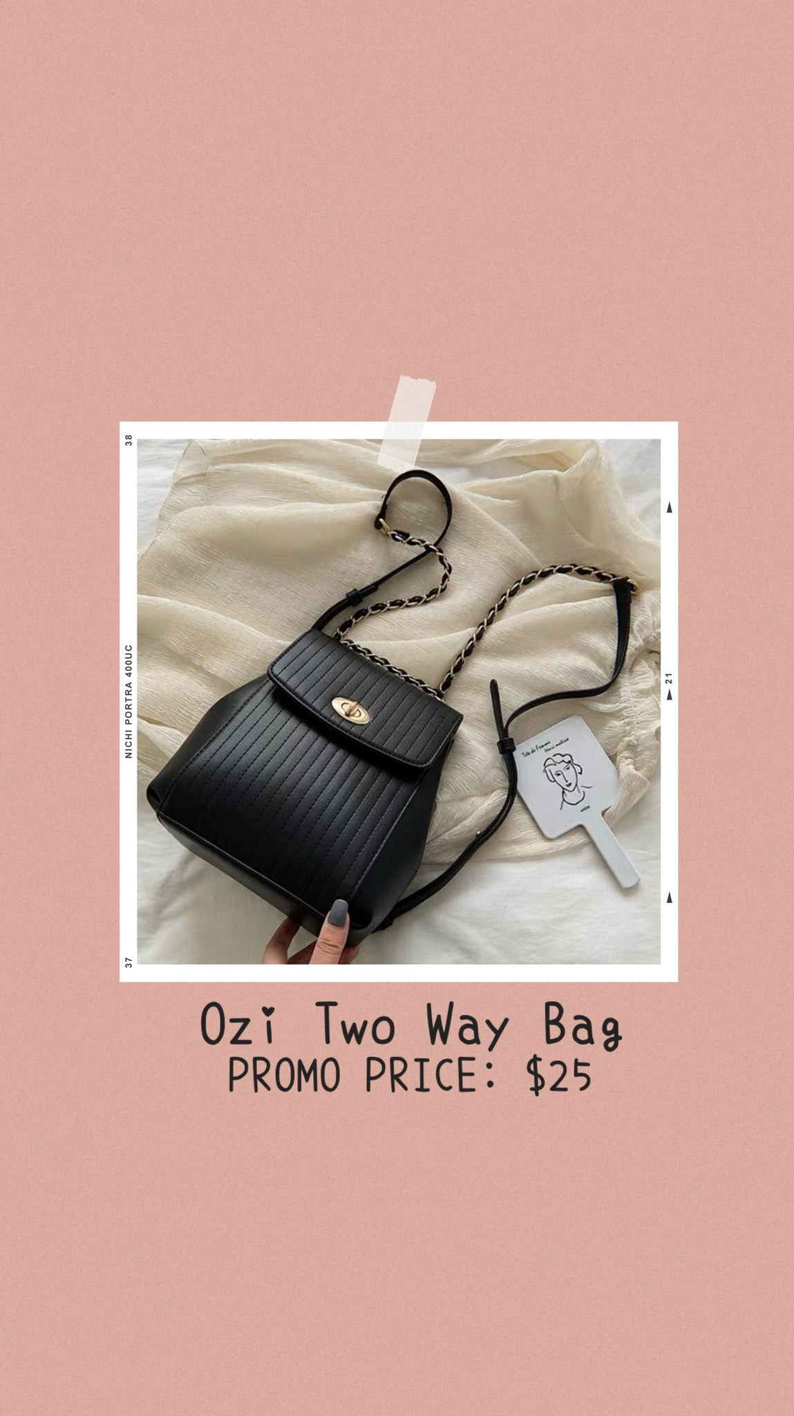 Ozi Two Way Bag