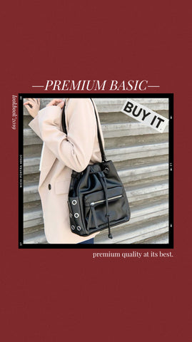 *Premium* Esmeralda Two Way Bucket Bag