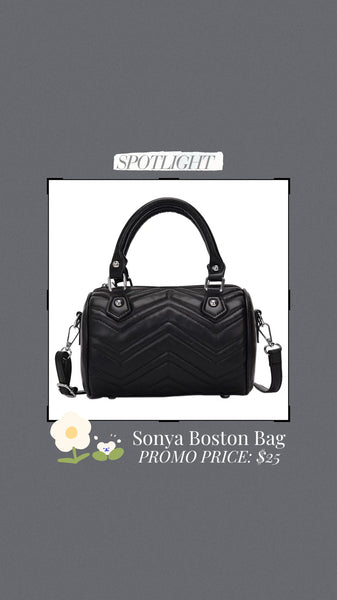 Sonya Boston Bag