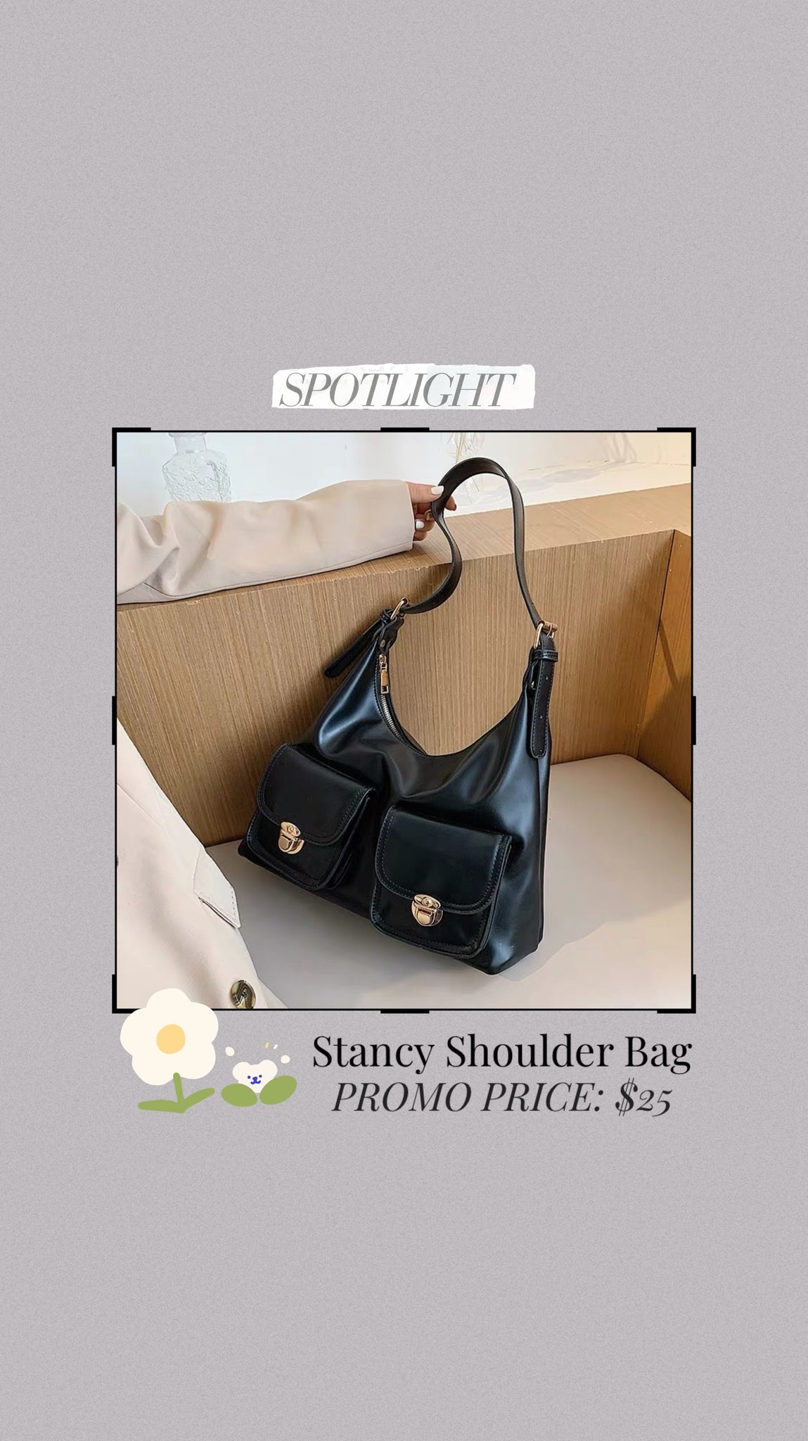 Stancy Shoulder Bag