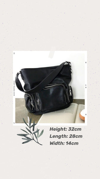 *Premium* Nanda Zipper Bucket Bag