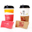 high quality low minimum custom printed or branded coffee sleeves
